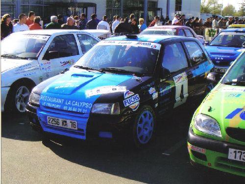 Clio Rallye de Neufchâtel en Bray 2005 par Thomas Bacqueville