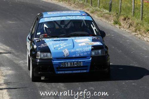 Clio Rallye du Tréport 2006 par Rallyefg