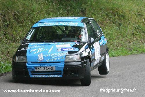 Clio Rallye Kalt Bec 2006 par Team Hervieux