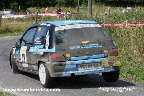 Clio Rallye de La Baie 2006 par Team Hervieux