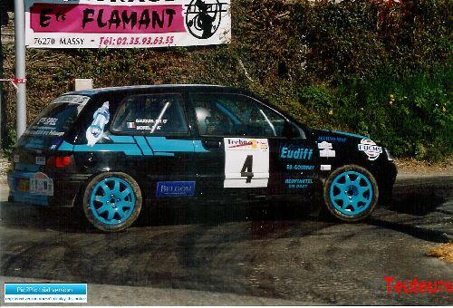 Clio Rallye de Neufchatel en Bray 2005 par Teuteu76