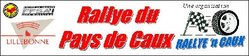 Banniére Rallye pays de caux - Lillebonne