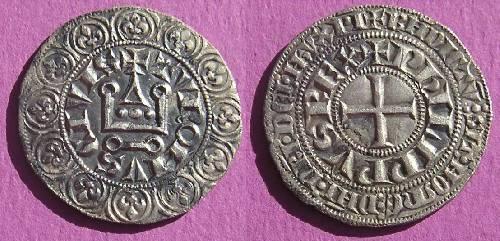 Philippe IV le Bel Gros tournois à l'O rond  1303-1306
