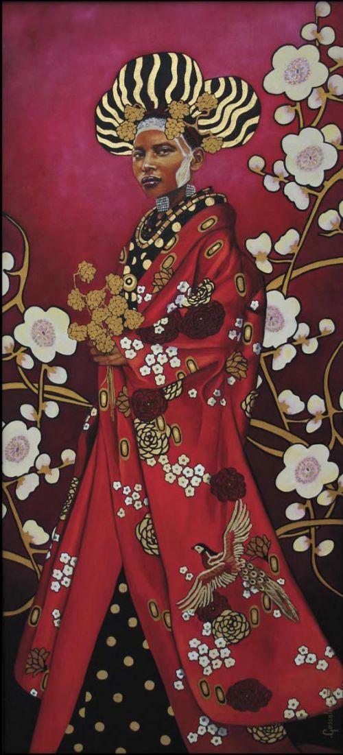 La Massaî en Kimono