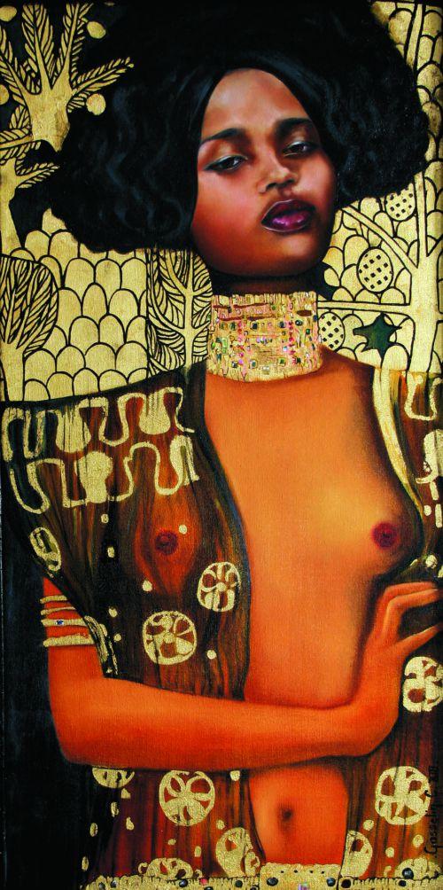 L'Africaine Klimtée