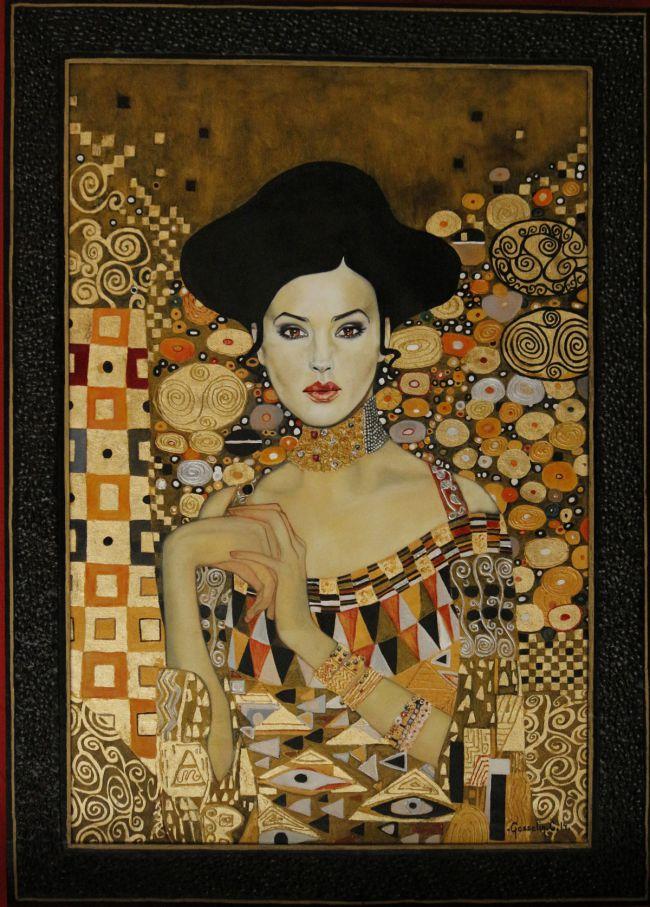 Monica BELLUCCI Klimtée
