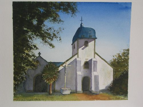 Eglise de Locmaria à Belle Ile (2006) (offert)