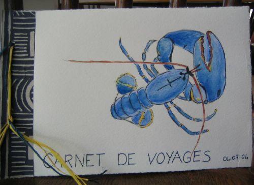 Journée carnet de voyages à Brain sur Vilaine (2004)