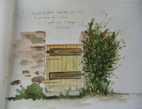 Petite porte St Séglin (2006)