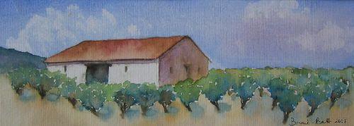 Paysage provençal (2007)