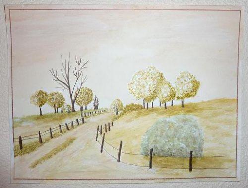Pommiers normands - fin de l'hiver