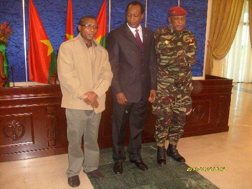 Dadis Compaoré et Konaté