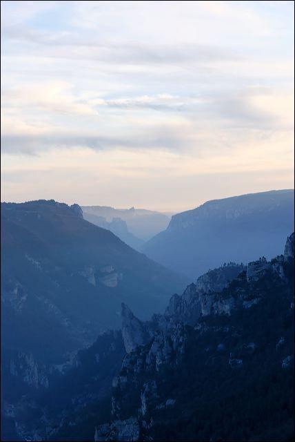 Les gorges du Tarn (point sublime)