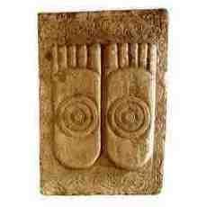 Les pieds du bouddha