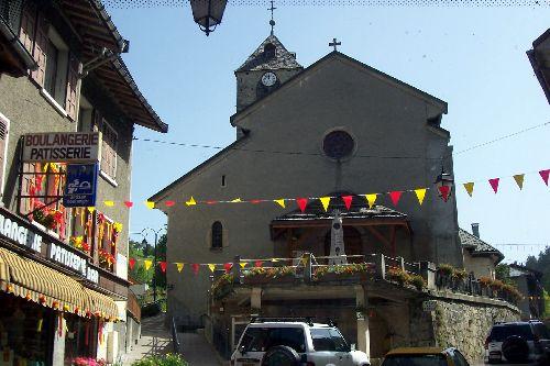 église de Flumet
