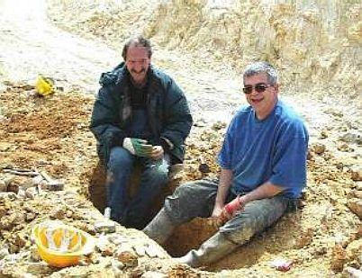 a BERRIEN recherche de quartz et aragonite