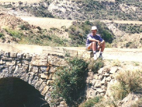 AMBASSAGUAS ruisseau pour les pyrites