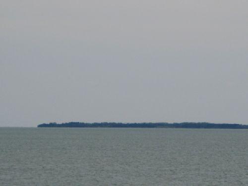 Ile d\'Aix vue de La Rochelle