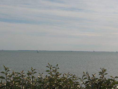 Ile d\'Oléron vue de La Rochelle
