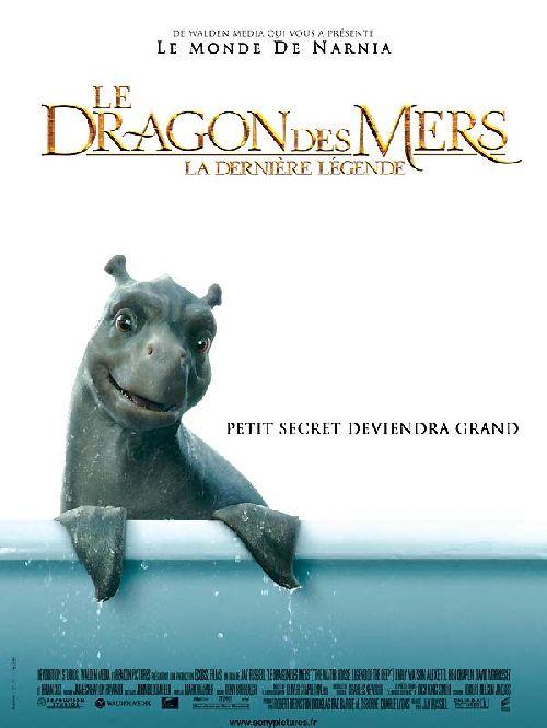 Affiche Le Dragon des mers - la dernière légende