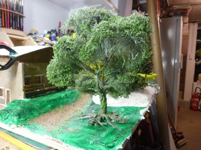 premier arbre fait maison