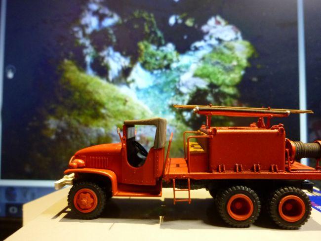 véhicule de pompier REE
