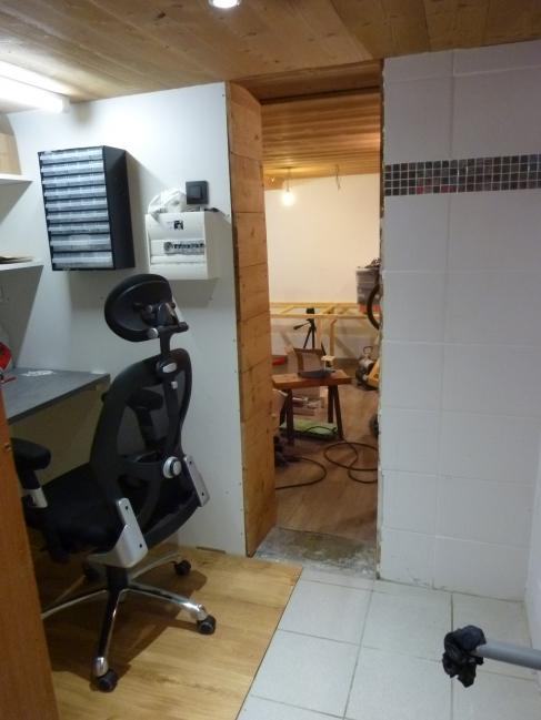 suite construction de l'atelier
