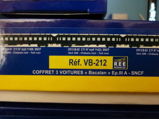 VOITURES BACALAN PLM ET SNCF
