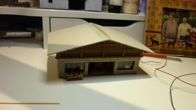 préparation de la toiture