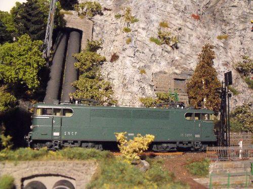 BB 9288 ROCO dans le modulino