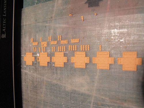 les caisses production en serie