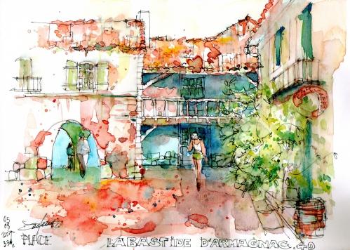 Devant crèperie Labastide d' Armagnac.jpg