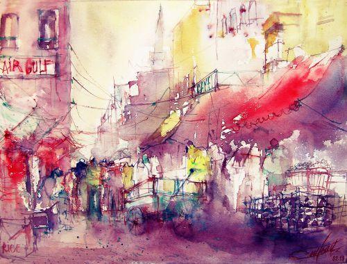 Le souk au CAIRE / Market at CAIRO