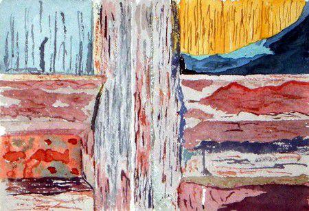 Vieux pan de bois (détail)