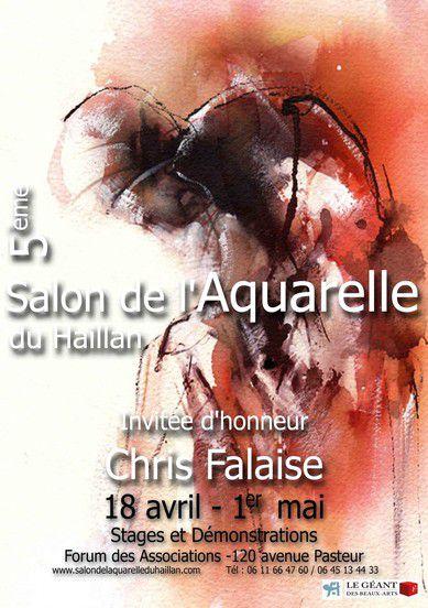 Salon de l'aquarelle du Haillan 2011
