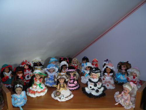 Ma collection de poupées Shelly