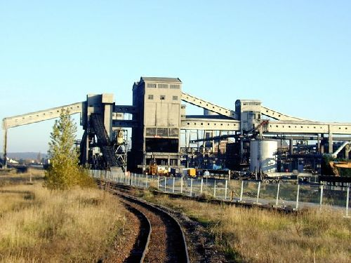 Une vue d'usine