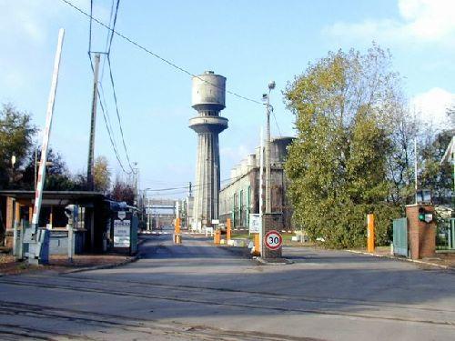 l'Entrée de l'usine