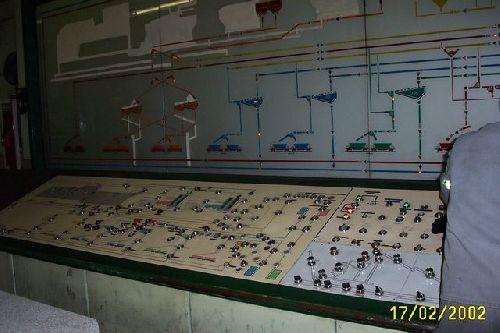 la salle de controle
