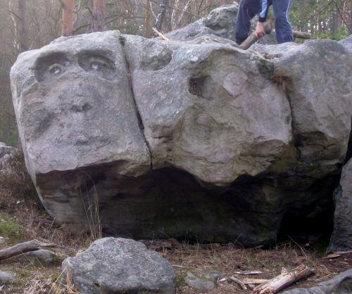 Curiosité en forêt d'Ermenonville