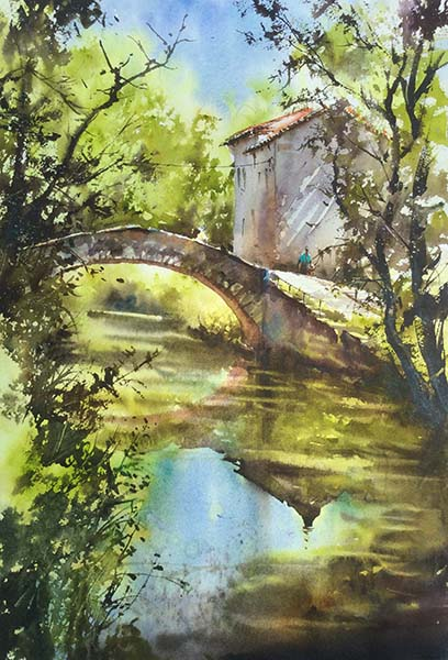 Thierry DE MARICHALAR 3 Plein air Moulin de Méjannes 56x31 600px.jpg