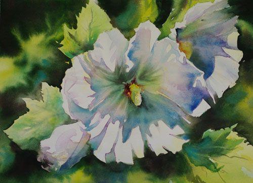 Aquarelles fleurs fruits aquarelle marichalar watercolor for Aquarelle fleurs