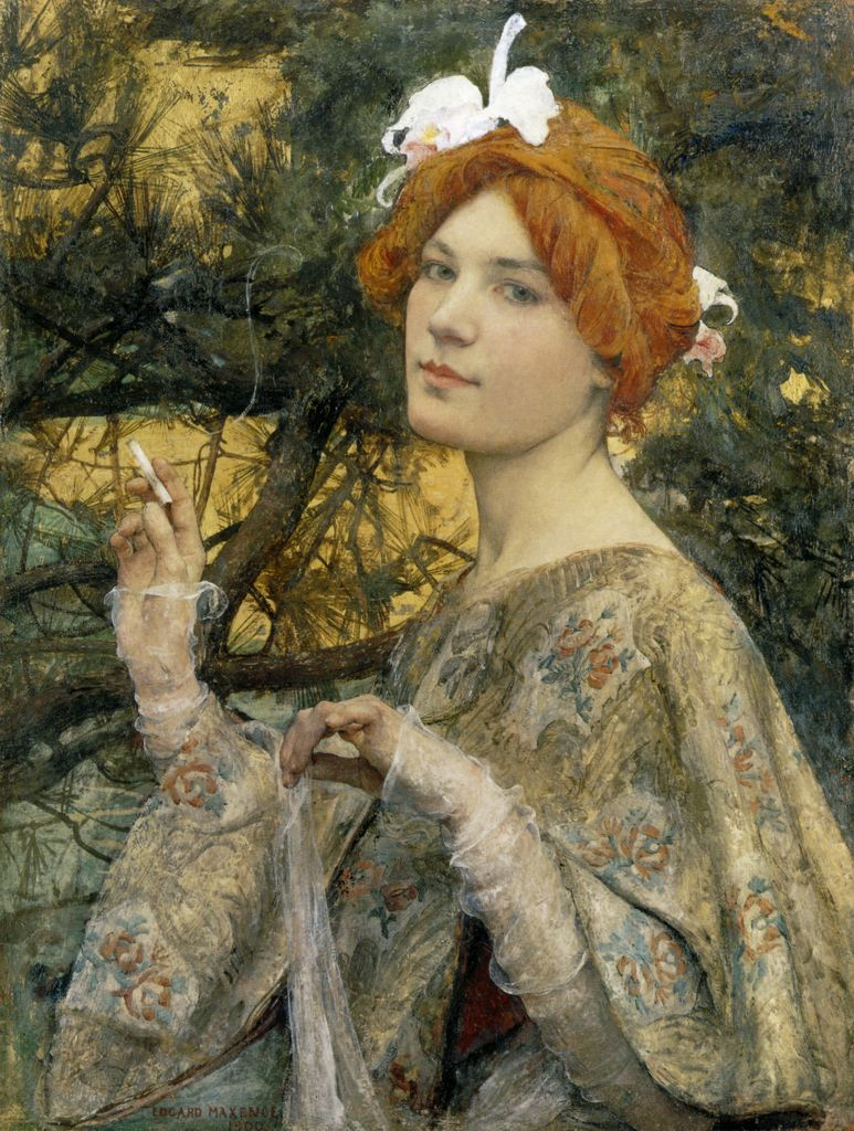 Edgar_Maxence_1900_Woman_with_Orchid_57x43_d_Orsay.jpg