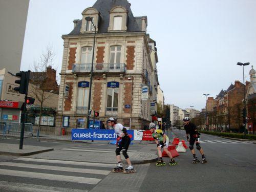 ... après 54 minutes d'efforts, il finit 27ème à près de 25km/h de moyenne.