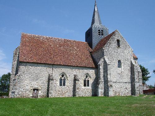 MONTMIRAIL : l'Eglise de Marchais en Brie