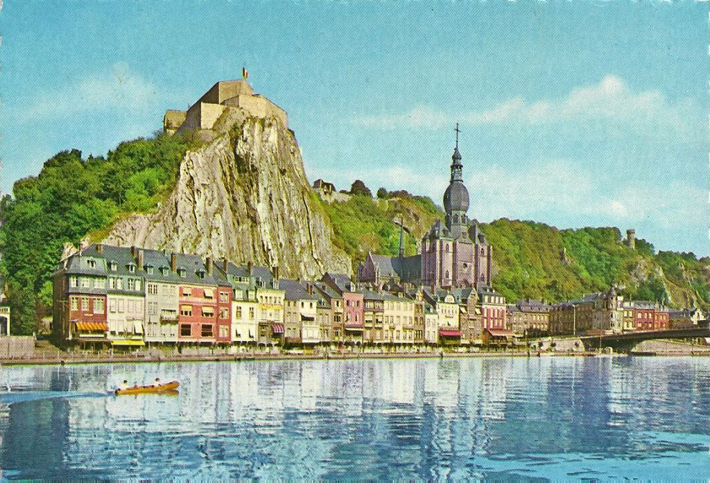 Carte Belgique Hd.Carte Postale Ancienne De Dinant En Belgique 1963 De L Image