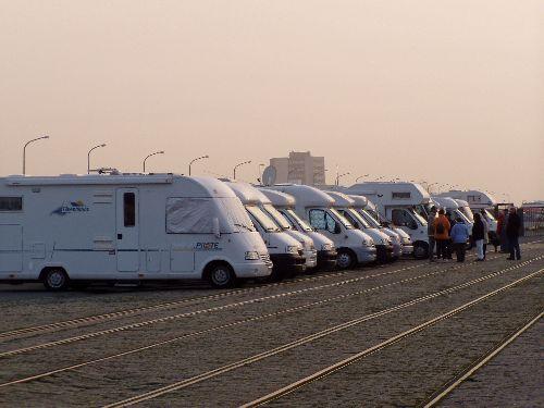 Sur le port de Calais. Sortie Calais ( 03/2005 )