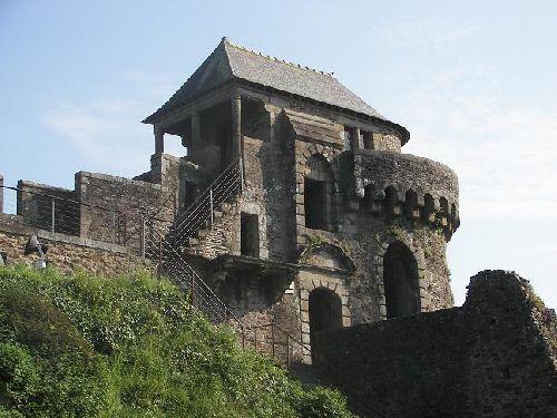 La visite du château de Josselin.
