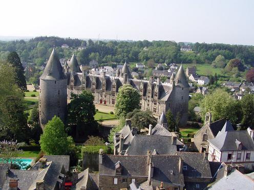 Le Château vu des remparts.