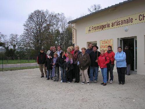 La Fromagerie artisanale de Chaource.